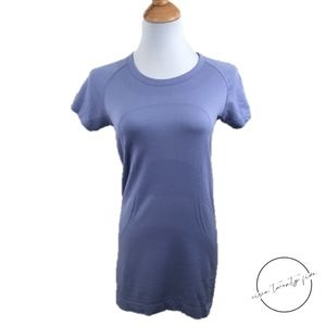 Lululemon Swiftly Short Sleeve Purple Stretch 8